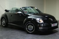 """USED 2013 VOLKSWAGEN BEETLE 1.4 50S EDITION 2d 158 BHP 17""""ALLOYS+LEATHER+FULL SERVICE HISTORY+NAV+PARKING SENSORS+HEATED FRONT SEATS+CRUISE CONTROL"""