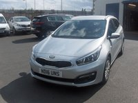 USED 2016 16 KIA CEED 1.4 CRDI 1 5d Estate BALANCE OF MANUFACTURERS SEVEN YEAR WARRANTY