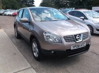 USED 2008 08 NISSAN QASHQAI 1.6 TEKNA 5d 113 BHP Great Value Qashqai, Economical, Reliable and With a Long MOT!