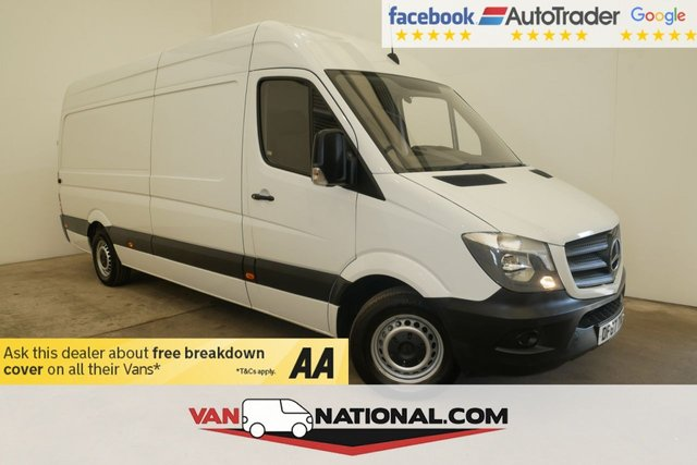USED 2017 67 MERCEDES-BENZ SPRINTER 2.1 314CDI 140 BHP LWB (EURO 6 ULEZ) * 1 OWNER * BLUETOOTH * EURO 6 * READY TO DRIVE AWAY TODAY * FINANCE AVAILABLE ON THIS VEHICLE *