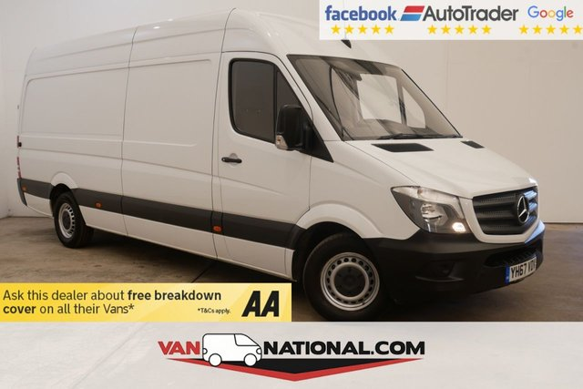 USED 2017 67 MERCEDES-BENZ SPRINTER 2.1 314CDI 140 BHP LWB  (EURO 6 ULEZ) * CRUISE CONTROL * BLUETOOTH * READY TO DRIVE AWAY TODAY * FINANCE AVAILABLE ON THIS VEHICLE *