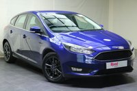 """USED 2015 15 FORD FOCUS 1.0 ZETEC 5d 100 BHP 16""""ALLOYS+FULL MANUFACTURER SERVICE HISTORY+NAV+PARKING SENSORS+BLUETOOTH+TINTED GLASS+AIR CON"""