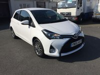 USED 2017 66 TOYOTA YARIS 1.3 VVT-I ICON 3d 99 BHP low low mileage