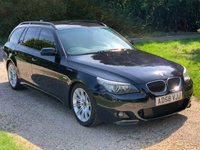USED 2008 58 BMW 5 SERIES 3.0 525D M SPORT TOURING 5d AUTO 195 BHP S/H, Climate Control, Sat Nav