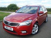 2012 KIA CEED 1.6 CRDI 2 SW ECODYNAMICS 5d 89 BHP £2995.00