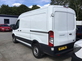 FORD TRANSIT at Van Ninja