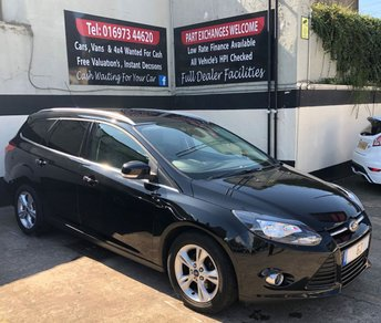 2013 FORD FOCUS ZETEC ESTATE 1.6 TDCI 5DR 115 BHP, ONLY £20 ROAD TAX £5850.00