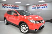 USED 2015 15 NISSAN QASHQAI 1.5 DCI ACENTA PLUS 5d 108 BHP Pan roof, Bluetooth, Sat Nav, Cruise control, 1 Owner