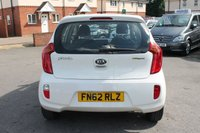 USED 2013 62 KIA PICANTO 1.2 2 ECODYNAMICS 5d 84 BHP EXCELLENT 7 STAMP SERVICE HISTORY - ONLY 2 OWNERS - GREAT MPG