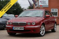 USED 2007 57 JAGUAR X-TYPE 2.2 SOVEREIGN 4d 152 BHP 1 OWNER FULL SERVICE HISTORY SATELLITE NAVIGATION CREAM LEATHER