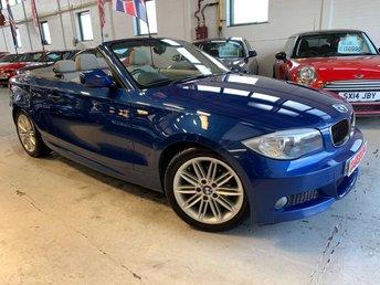2011 BMW 1 SERIES 2.0 120D M SPORT 2d 175 BHP £9995.00