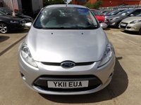 USED 2011 11 FORD FIESTA 1.4 ZETEC 16V 5d 78 BHP  NEW MOT, SERVICE & WARRANTY