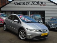 2009 HONDA CIVIC 1.8 I-VTEC EX 5d FACELIFT + FULL LEATHER £4790.00
