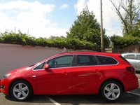 USED 2014 64 VAUXHALL ASTRA 1.6 SRi ESTATE 5d 113 BHP GUARANTEED TO BEAT ANY 'WE BUY ANY CAR' VALUATION ON YOUR PART EXCHANGE