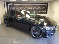 USED 2013 62 BMW 3 SERIES 2.0 320D SPORT 4d 184 BHP + FULL RED LEATHER + SAT NAV