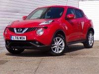 2016 NISSAN JUKE 1.6 ACENTA XTRONIC 5d AUTO 117 BHP £7989.00