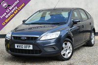 USED 2010 10 FORD FOCUS 1.6 STYLE 5d 100 BHP FULL SERVICE HISTORY, 12 MONTHS MOT, 12 MONTHS WARRANTY