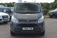 USED 2016 66 FORD TRANSIT CUSTOM 2.0 TDCi 270 L1H1 Limited Panel Van 5dr (EU6) TOW BAR*FORD S/HISTORY*EU6