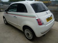 USED 2012 61 FIAT 500 0.9 TwinAir Lounge (s/s) 3dr 12 MONTHS ROAD TAX £0.00 !!!