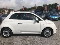 USED 2010 60 FIAT 500 1.2 Lounge Dualogic 3dr Automatic 1.2 Lounge