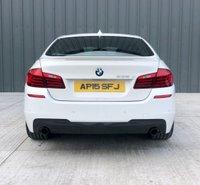 USED 2015 15 BMW 5 SERIES 3.0 535D M SPORT 4d AUTO 309 BHP