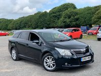 USED 2010 60 TOYOTA AVENSIS 2.0 TR D-4D 5d 125 BHP FULL SERVICE HISTORY - 8 X SERVICE STAMPS - LOW RATE APR AVAILABLE