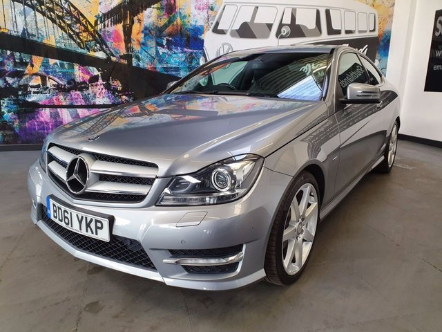 USED 2011 61 MERCEDES-BENZ C CLASS C220 CDI BlueEFFICIENCY AMG Sport 2dr Auto Comand