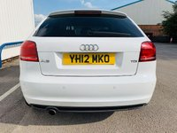 USED 2012 12 AUDI A3 2.0 TDI S LINE SPECIAL EDITION 3d AUTO 138 BHP BLACK EDITION - S TRONIC - FULL SERVICE HISTORY - MOT APRIL 2020 - BOSE SPEAKERS - FLAT BOTTOM STEERING WHEEL - 3 MONTH WARRANTY
