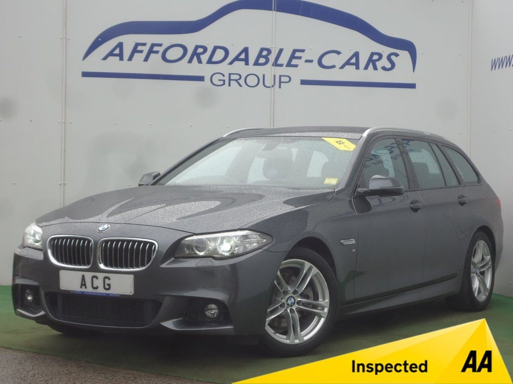 USED 2016 16 BMW 5 SERIES 2.0 520D M SPORT TOURING 5d AUTO 188 BHP