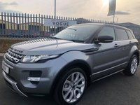 2013 LAND ROVER RANGE ROVER EVOQUE 2.2 SD4 DYNAMIC 5d 190 BHP £16850.00