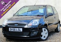 USED 2006 56 FORD FIESTA 1.4 ZETEC CLIMATE 16V 3d 80 BHP 12 MONTHS MOT, ELECTRIC WINDOWS, AIR CON, CD PLAYER