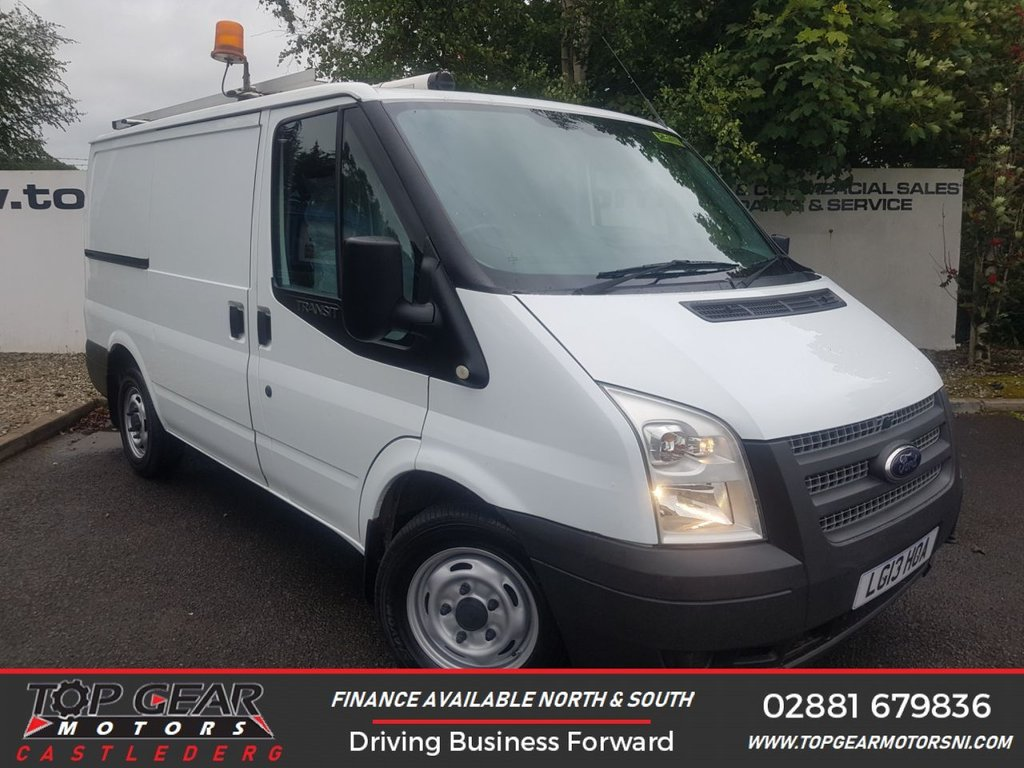 USED 2013 13 FORD TRANSIT 300 2.2 100 BHP LR TWIN SIDE DOORS **85 VANS IN STOCK**
