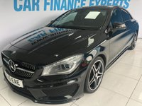 USED 2015 15 MERCEDES-BENZ CLA 2.1 CLA220 CDI AMG SPORT 4d AUTO 170 BHP