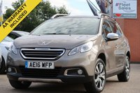 USED 2016 16 PEUGEOT 2008 1.6 BLUE HDI S/S FELINE MISTRAL 5d 120 BHP PANORAMIC ROOF, FULL LEATHER + SATELLITE NAVIGATION