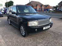USED 2007 C LAND ROVER RANGE ROVER 4.2 V8 SUPERCHARGED 5d AUTO 391 BHP FULL SERVICE HISTORY-SAT NAV-AUTOMATIC-FULL LEATHER-REAR DVD PLAYER