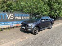 USED 2016 66 FORD RANGER 3.2L WILDTRAK 4X4 DCB TDCI 200 BHP AIR CON NAV FULL SERVICE HISTORY AIR CON - CRUISE CONTROL-PARKING SENSORS - RAC WARRANTY - NATIONWIDE DELIVERY