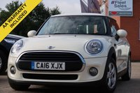 USED 2016 16 MINI HATCH ONE 1.5 ONE D 3d 94 BHP FULL SERVICE HISTORY 1 OWNER FROM NEW KEYLESS GO