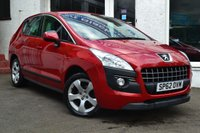 USED 2012 62 PEUGEOT 3008 1.6 ACTIVE HDI FAP 5d 112 BHP STUNNING PEUGEOT 3008 IN RED