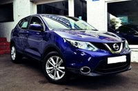 USED 2016 16 NISSAN QASHQAI 1.5 DCI ACENTA SMART VISION 5d 108 BHP VERY VERY LOW MILEAGE QASHQAI DIESEL
