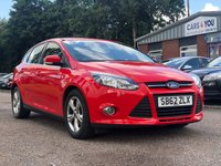 USED 2012 62 FORD FOCUS 1.6 ZETEC TDCI 5d 113 BHP BLUETOOTH +  MEDIA CONNECTIVITY +  FULL YEAR MOT +  1 PREVIOUS KEEPER +  DAB RADIO +  SERVICE RECORD +