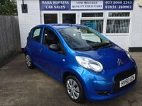 USED 2010 60 CITROEN C1 1.0 VT 5d 68 BHP 90K ONE  FAMILY OWNER ULTRA LOW INS £20/YR TAX SUPER ECONOMICAL VGC