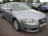 USED 2009 59 AUDI A6 2.0 TDI E SE 4d AUTO 134 BHP 1 Previous owner - Sat nav - Parking sensors