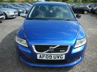 USED 2009 09 VOLVO S40 1.6 SPORT 4d 100 BHP Leather