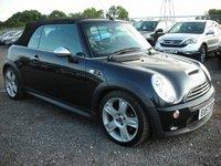 2007 MINI CONVERTIBLE 1.6 COOPER S 2d 168 BHP £3500.00