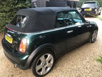 USED 2008 08 MINI CONVERTIBLE 1.6 COOPER SIDEWALK 2d AUTO 114 BHP AUTOMATIC, LOW MILEAGE