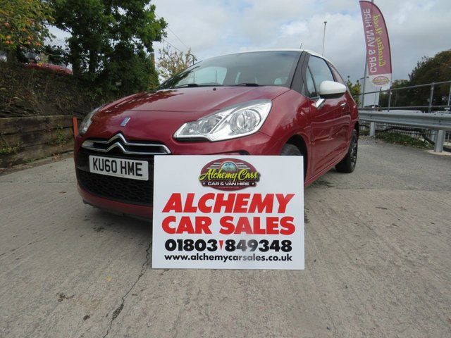 USED 2010 60 CITROEN DS3 1.6 DSTYLE 3d AUTO 120 BHP