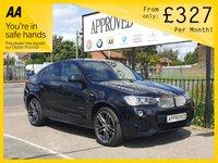 2015 BMW X4 3.0 XDRIVE30D M SPORT 4d AUTO 255 BHP £18995.00