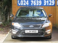 USED 2014 14 FORD MONDEO 2.0 ZETEC BUSINESS EDITION TDCI 5d 138 BHP FSH, BLUETOOTH, SAT NAV