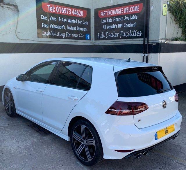 Volkswagen Golf Hatchback 2 0 Tsi R 5dr Dsg Nav