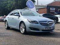 USED 2014 14 VAUXHALL INSIGNIA 2.0 SRI NAV CDTI ECOFLEX S/S 5d 160 BHP NAVIGATION SYSTEM +   BLUETOOTH *  PRIVACY GLASS *  FRONT AND REAR PARKING AID *  CRUISE CONTROL *